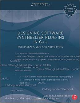 designing software synthesizers book