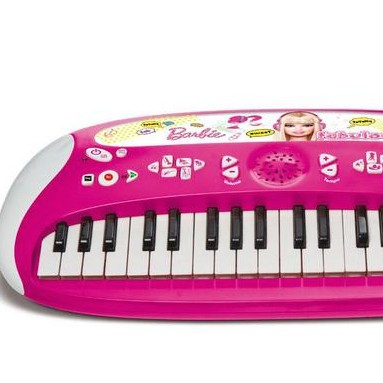 crappy cheap barbie keyboard