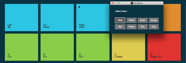 midimidi color