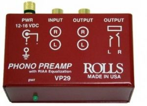 rolls preamp phono