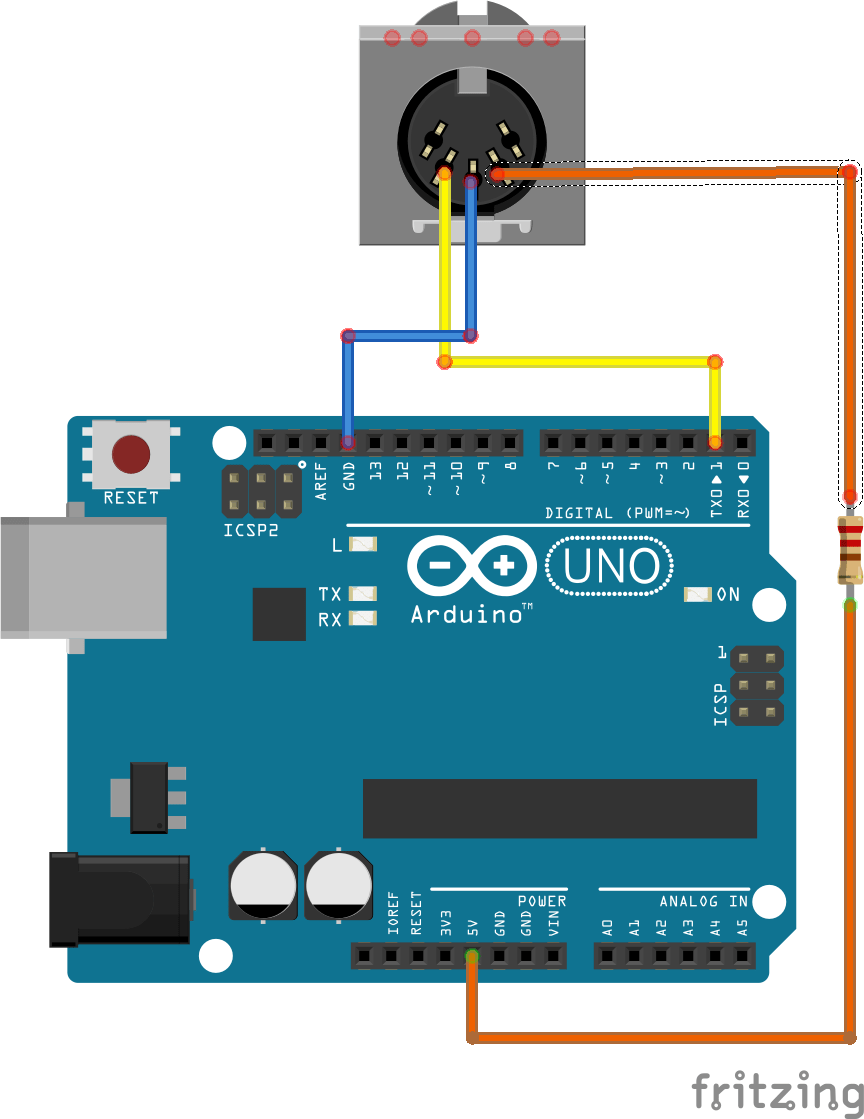 how to build a midi controller with arduino