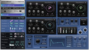 novation ultranova software