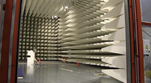 Kyushu Institute of Design's anechoic chamber