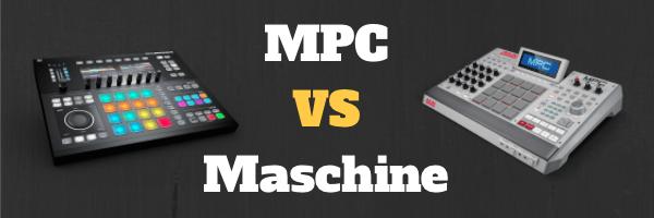 Maschine Studio VS MPC Renaissance
