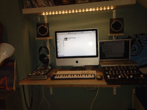 5 awesome recording studio desk plans on a budget for Home recording studio plans