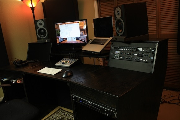 Awesome Recording Studio Desk Plans on a Budget