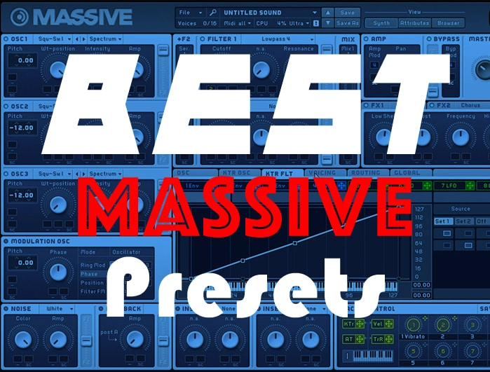 best massive presets