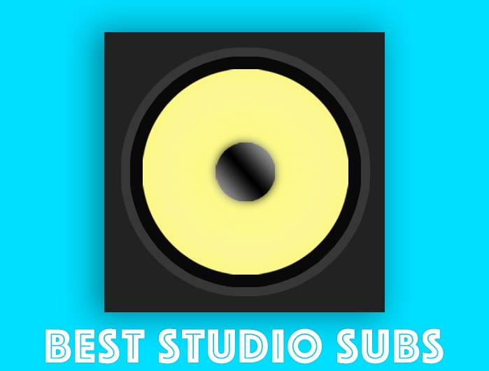 best studio subwoofer