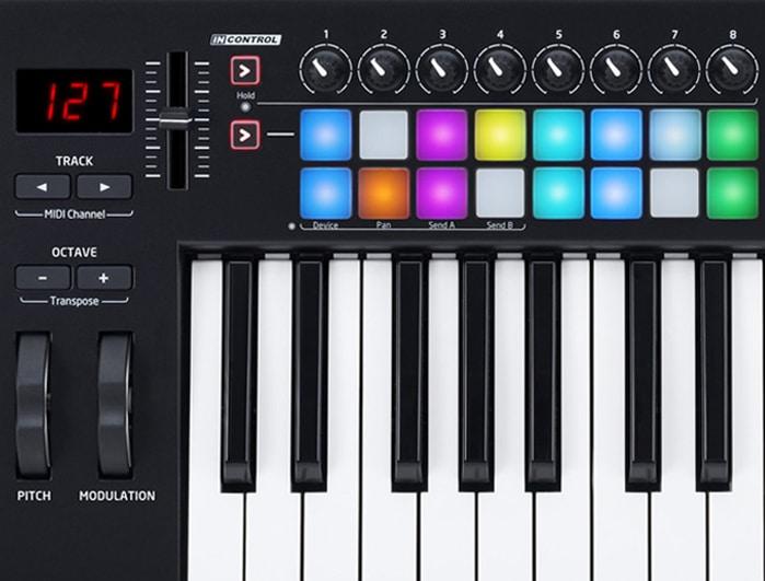 25 key midi keyboards