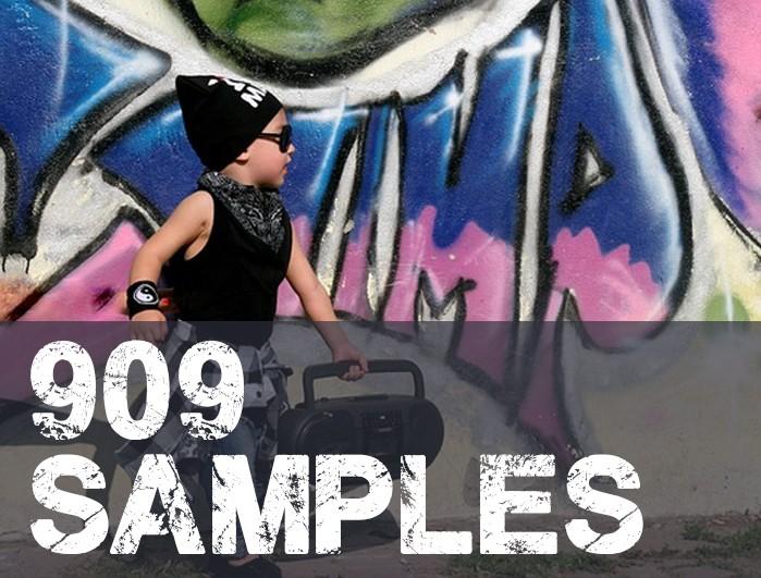 909 samples