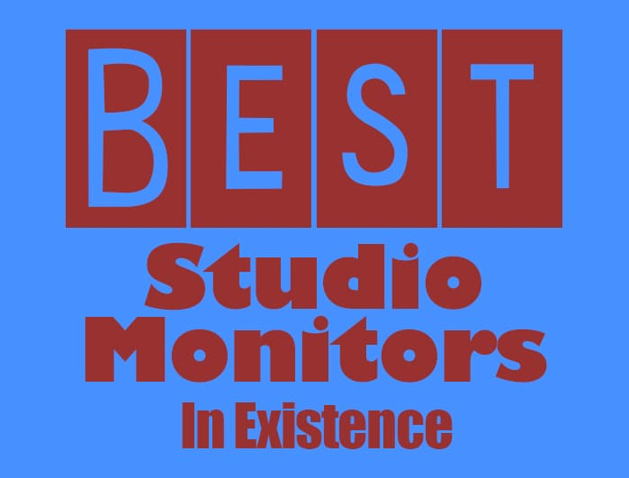 These are the best studio monitors.
