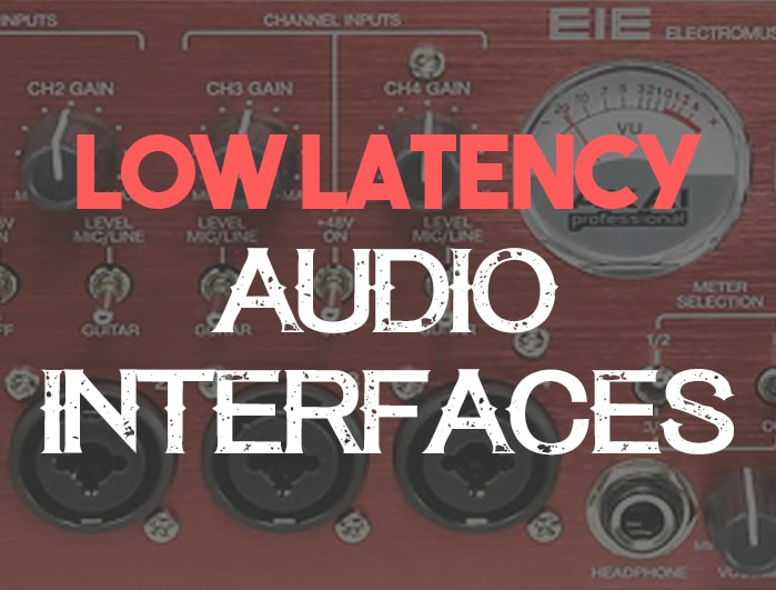 Low latency audio interfaces