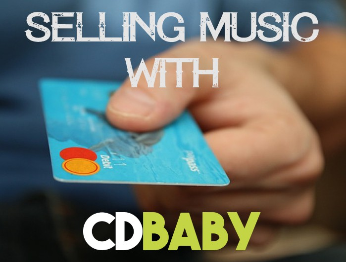 selling music with CDBaby