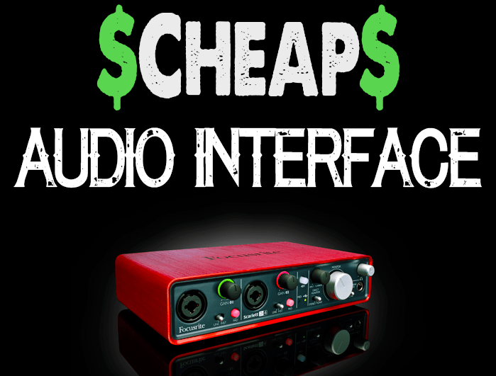 Cheap audio interface