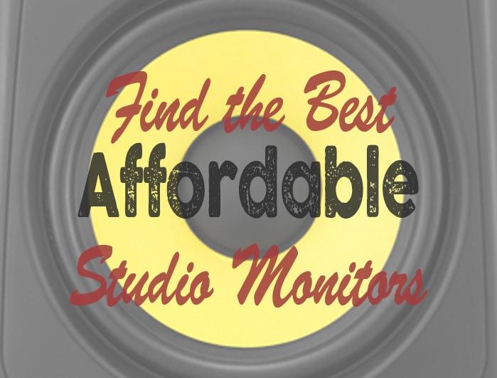 Best affordable studio monitors