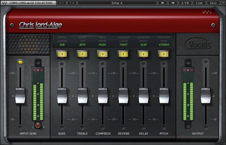 CLA Vocals plugin screenshot