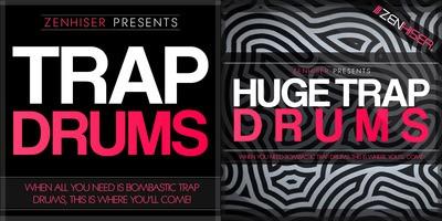 Huge Trap Drums