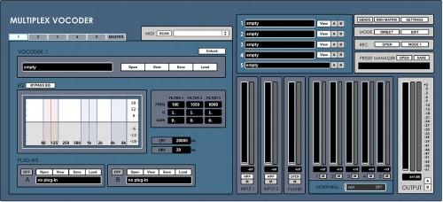 Multiplex Vocoder