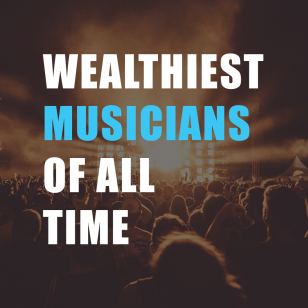 Ever wonder who are the wealthiest musicians of all time?