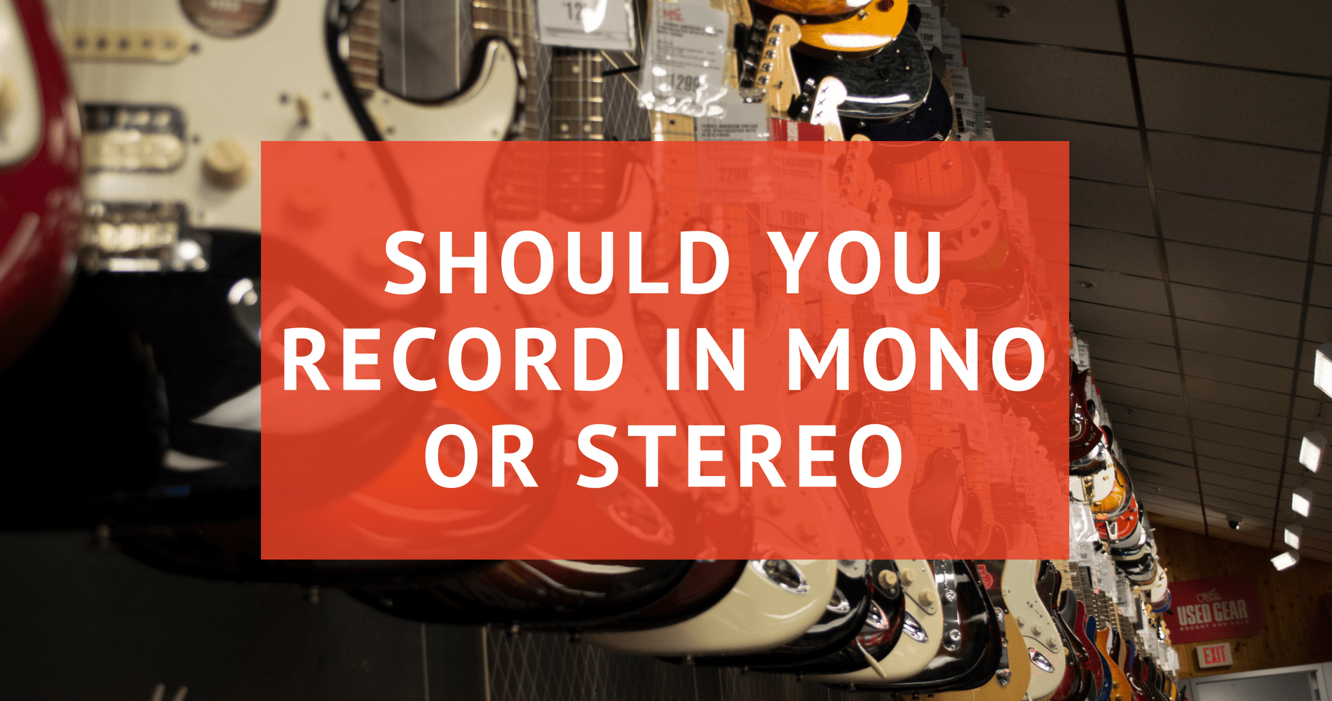 mono or stereo