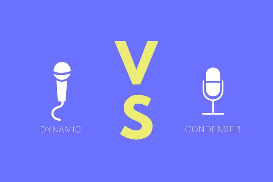 Dynamic vs. Condenser Microphones